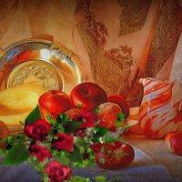 Персик и дыня :: Наталия Лыкова