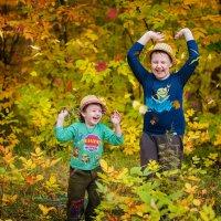 Осень! Листья! Лес! :: Ольга Егорова