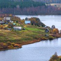 Мыс на озере. :: Фёдор. Лашков