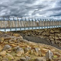 Iceland 07-2016 Bridge between Continents :: Arturs Ancans