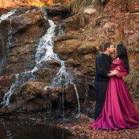 Любовь на водопаде... :: Кристина Волкова(Загальцева)
