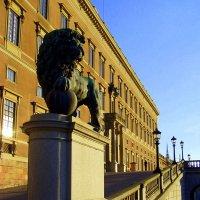 Королевский дворец в Стокгольме :: Лара Амелина