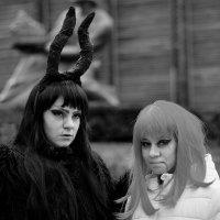 Хэллоуин. Девочки в образе. :: Стас
