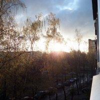 Утро над спящим городом :: Тамара Лисицына