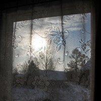 """Картина """"Деревня за окном"""" :: Андрей Скорняков"""