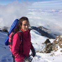 На горной тропе. :: Anna Gornostayeva