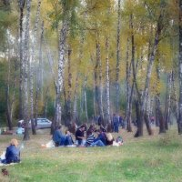 Последние тёплые денёчки :: Валентина Данилова
