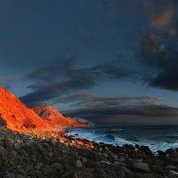 панорамные контрасты на закате :: viton