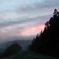 Закат в облаке :: Светлана Попова