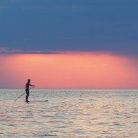Черноморский лыжник :: Дмитрий Дмитриев