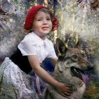 Красная шапочка и Серый волк :: Нина
