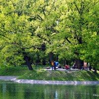 ритмы города-парки культуры и отдыха :: Олег Лукьянов