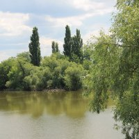 Река Кирпили :: Олег Афанасьевич Сергеев