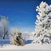 Акварельные краски зимы :: Лидия (naum.lidiya)