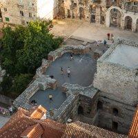 Сплит, средние века, взгляд с колокольни. :: Сергей Бурлакин