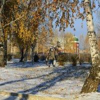 Зимы неслышные шажочки... :: Владимир Хиль