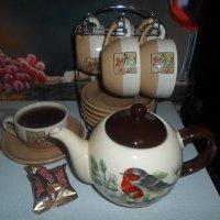 Чай с мятой и чабрецом :: BoxerMak Mak