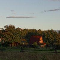 Утро в деревне :: Евгений Карский