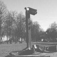"""Декоративная скульптура """"Петербургские дворняжки"""" :: IRINA TIMONINA"""