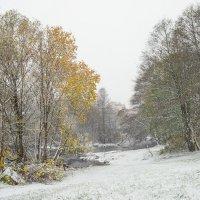 Снег в октябре 22 :: Виталий