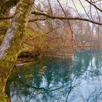 Осень на голубом озере. КБР. :: Николай Николенко