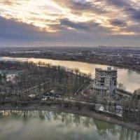 Краснодарский недострой на закате :: Андрей Майоров