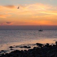 Закат на море :: Алиса Колпакова