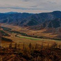 На перевале Чике Таман :: Александр Поборчий