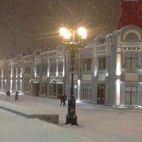 Улица, фонари, пурга :: Владимир Ростовский
