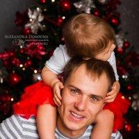 папа и доченька :: Александра Домнина