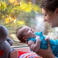 Счастье материнства. :: Райская птица Бородина