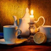 чай при свече :: scbi