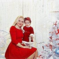Мама с малышкой в студии :: марина алексеева