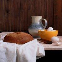 Свежий  хлеб :: Наталья Казанцева