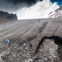 Перед ледником Гергети ( 3 100 м ) :: Вячеслав Шувалов