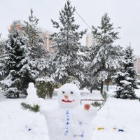 Снеговичок весельчак :: Татьяна Помогалова