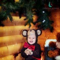 В костюме медвежонка :: марина алексеева