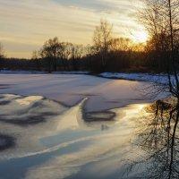 Предзимний закат :: Валерия заноска