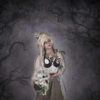 Хеллоуин - Белая ведьма :: Minerva. Светлана Косенко
