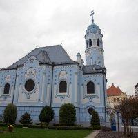Голубая церковь (Братислава) :: Irina Shtukmaster