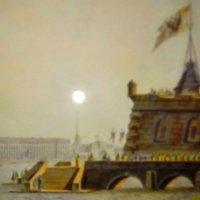 Архитектура на старых огткрытках.(С.Ф. Галактионов (1779-1854) , литография, акварель). :: Светлана Калмыкова
