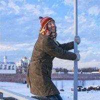 Первые зимние радости :: Марина Алексеева