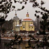 Деревянная церковь на р. Важа :: Алексей Корнеев