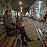 До ночного самолета ещё несколько часов... :: Ирина Данилова