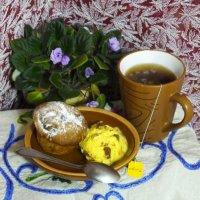 кекс с мороженным и чаем2 :: Дмитрий Гринкевич