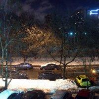 а за окном:то снег,то дождь :: Олег Лукьянов