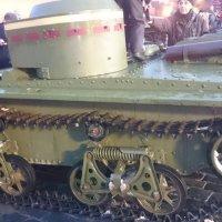7 ноября 2016г. Танк Т-38 на Красной Площади :: Galina194701