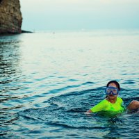 Лейсан и море :: Алмаз Насибулин