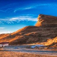 Закат на перевале :: Владимир КРИВЕНКО