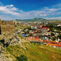 Судак с  крепостной стены :: Роман Величко